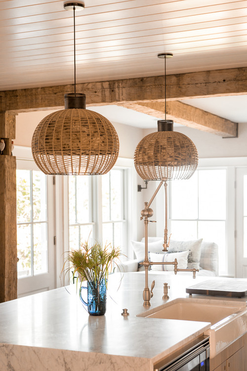 Light and Bright Maine Kitchen