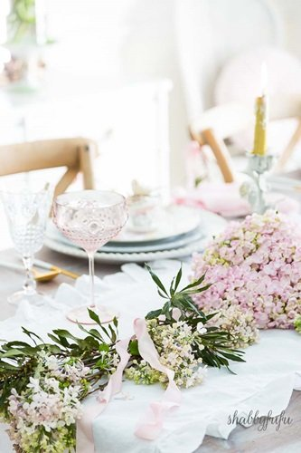 Spring Table Setting by Shabbyfufu