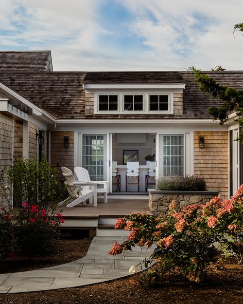 Nantucket Style Home Exterior