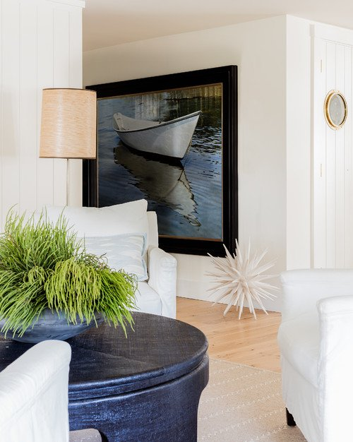 Yacht Inspired Coastal Home Living Room