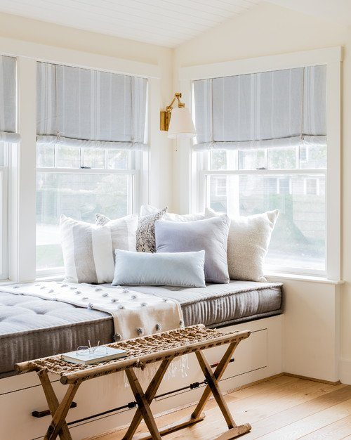 Cozy Window Seat with French Mattress