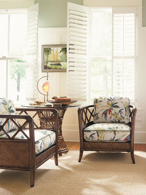 Tommy Bahama Rattan Cane Furniture Set