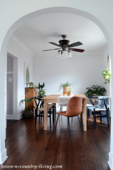 Boho Chic Dining Room in Sears Catalog Home