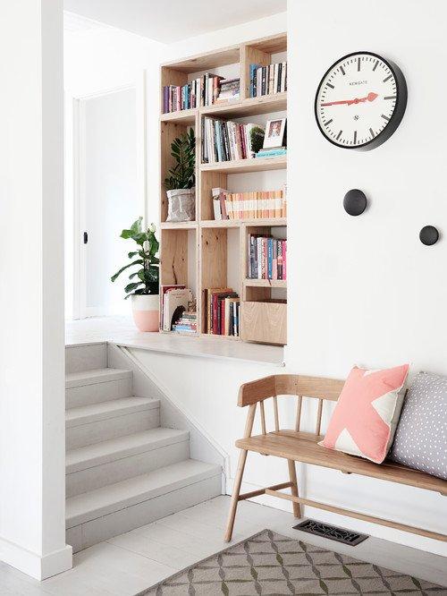 Minimalist Scandinavian Style Entryway