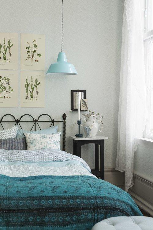 Nature Inspired Shabby Chic Bedroom