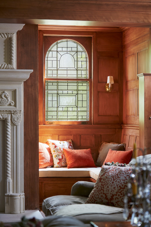 Built In Reading Nook in Historic Home