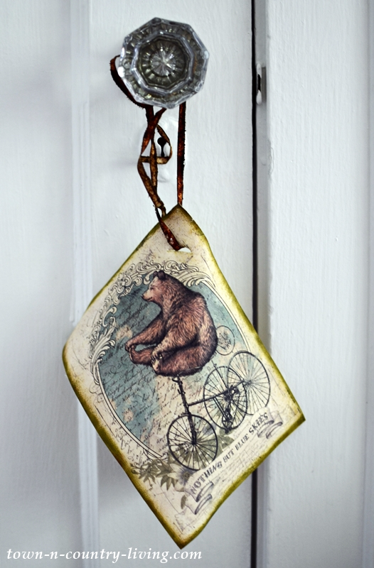 Mini Bear Tapestry Door Hanger