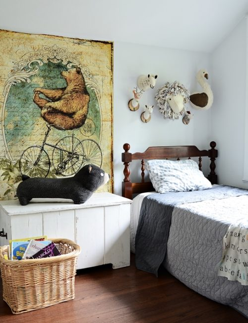 Animal Themed Bedroom for Boys