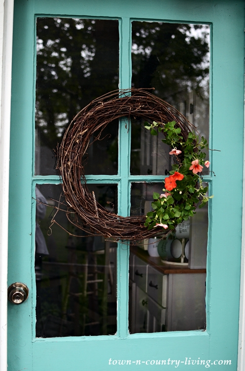 Natural Wreath for Summer Decor