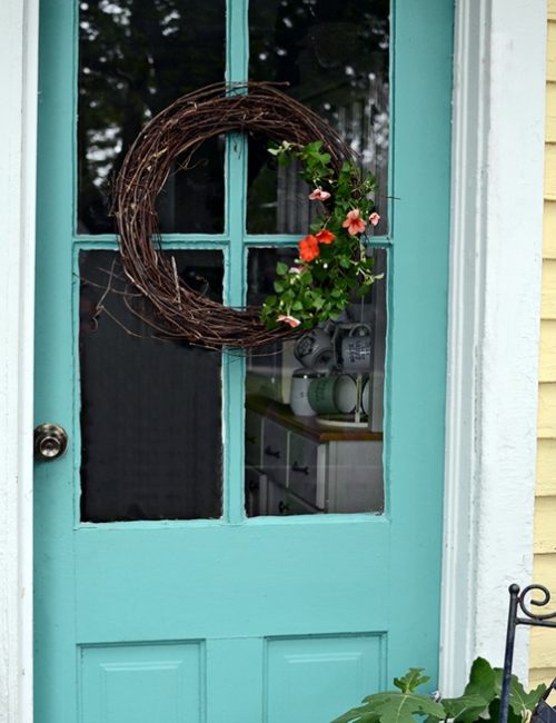 Natural Wreath for Summer. Make it in less than 30 minutes.
