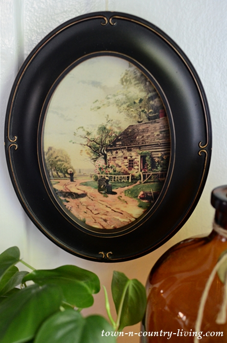 Framed Country Landscape Art