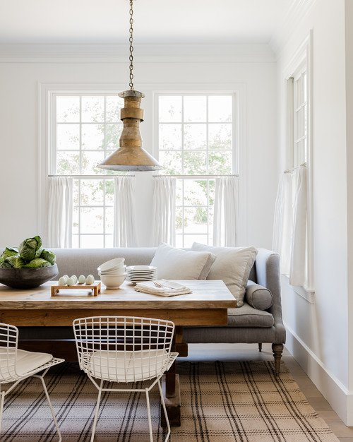 Farmhouse Style Breakfast Nook