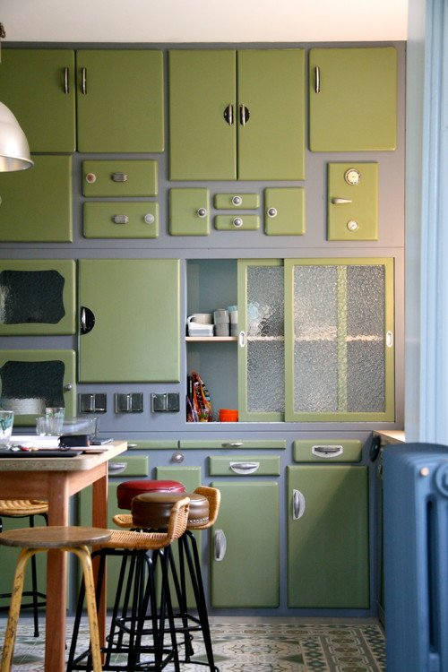 Eclectic Vintage Kitchen