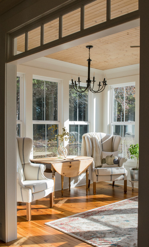 Farmhouse Style Sun Room