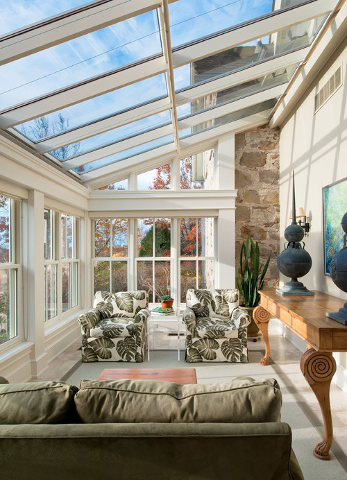 Beautiful Sun Rooms with Grand Style