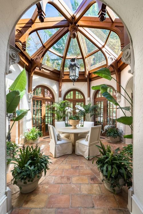 Grand Victorian Style Sun Room