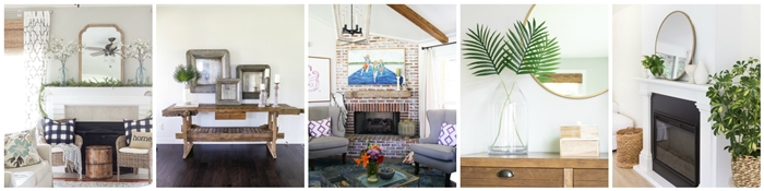 Summer Vignettes and Mantels Blog Hop