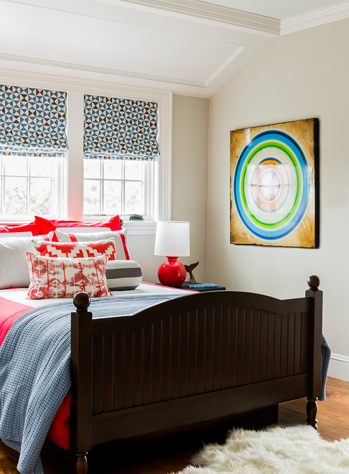 Light and Bright Eclectic Bedroom