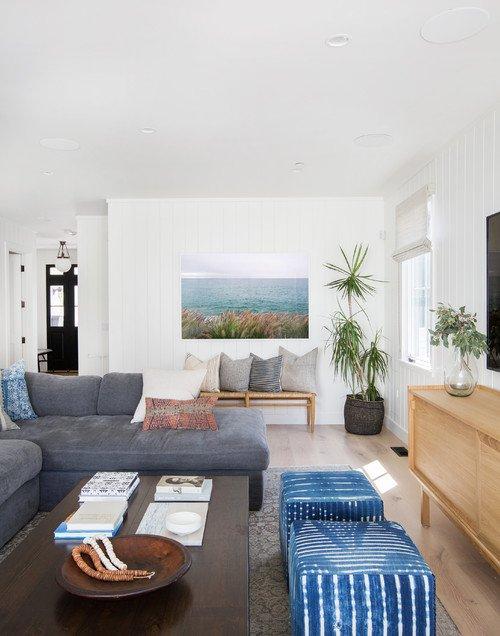 Modern Beach Style Living Room