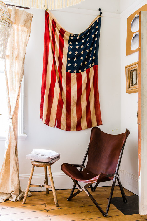 Decorating with Old Glory - the American flag