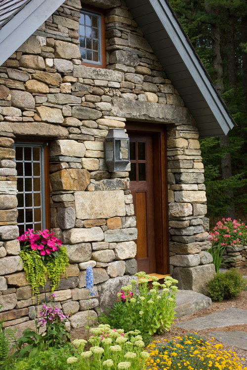 Quaint Stone Cottage in the Woods