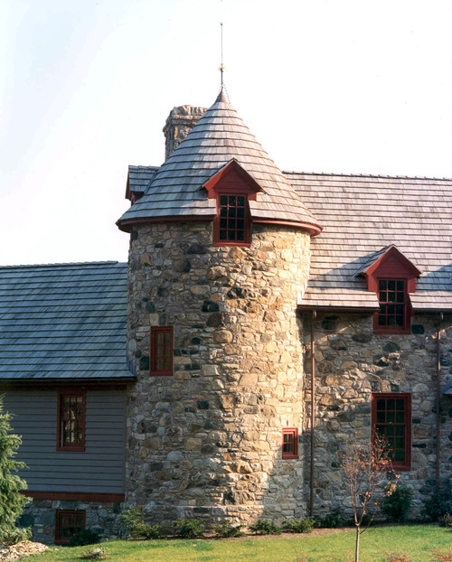 Old Stone House with Turret
