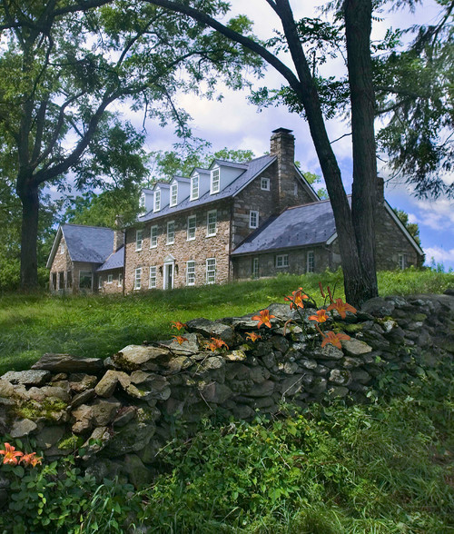 Historic Colonial Home with Restored Stone Work