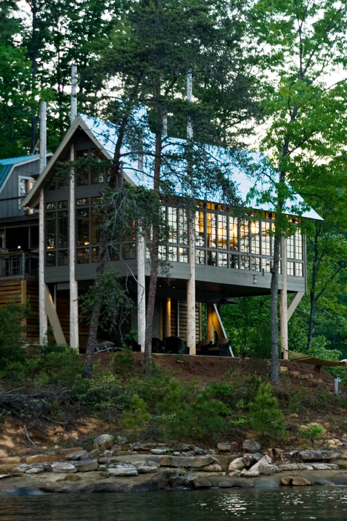 Treehouse Style Summer Cabin
