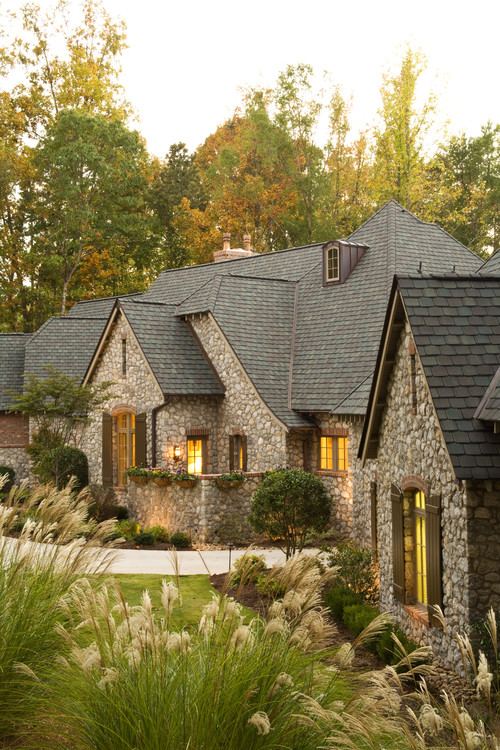New Construction Home with Stone Facade