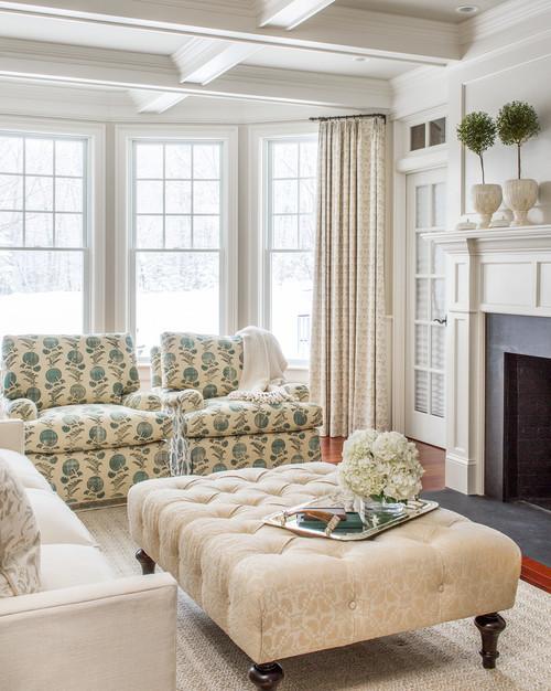 Elegant Coastal Living Room