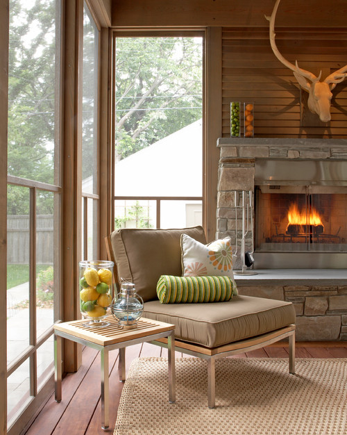 Summer Porch in Neutral Tones