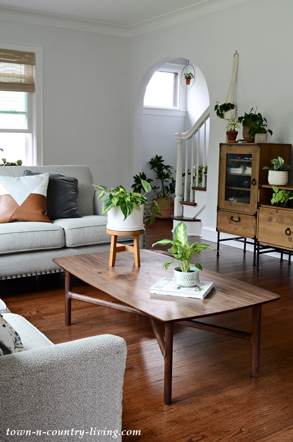 Bridget S Plant Filled Boho Chic Living Room Town