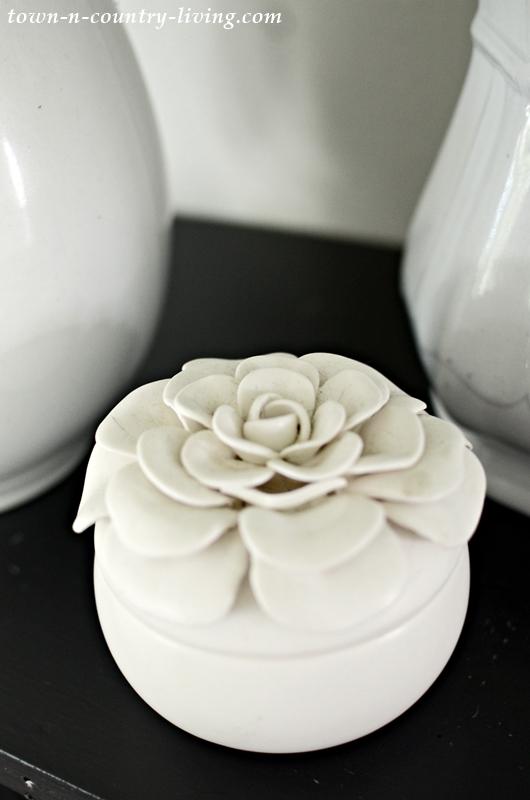 White Porcelain Gardenia Candle