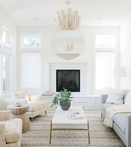White Living Room in San Francisco