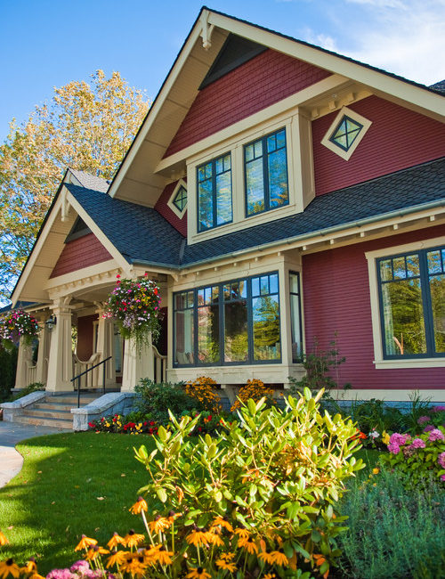 Red Craftsman House