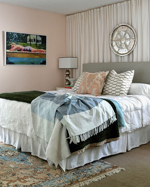 Master Bedroom in Southern Cottage