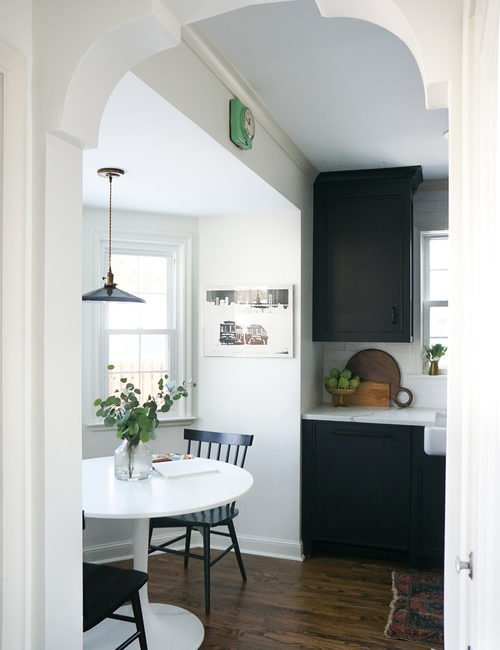 Updated Vintage Kitchen from the 1940s