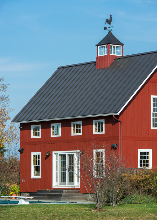 Converted Red Barn House
