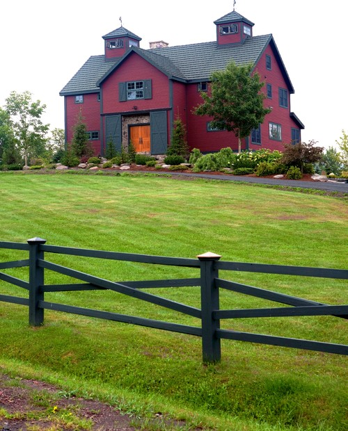 Rustic Red Barn Style Home