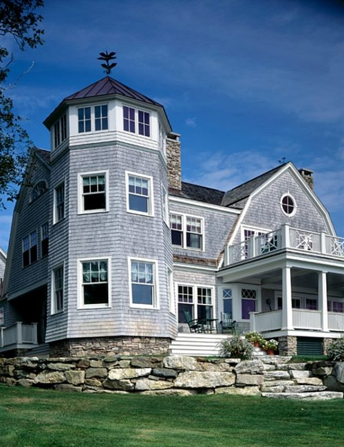 Coastal Home in Portland Maine