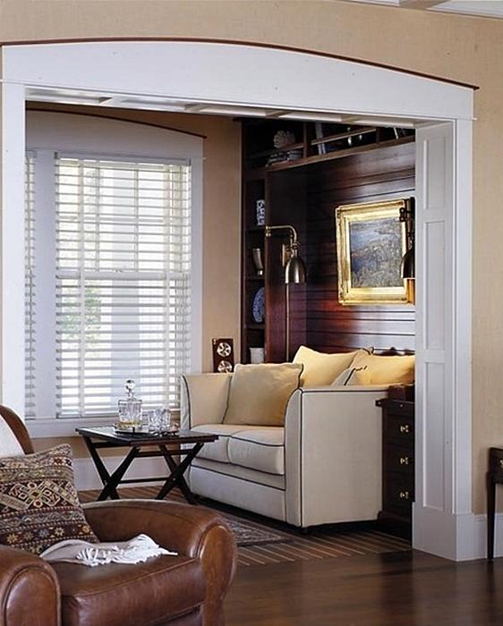 Cozy Den in a Coastal Home