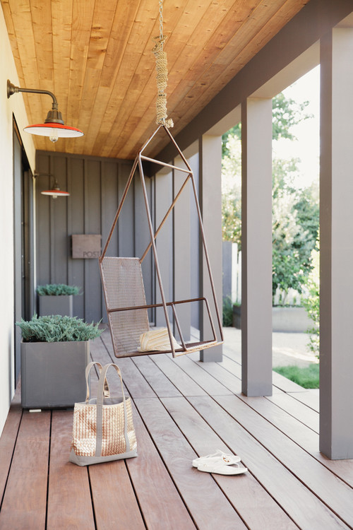 Modern Style Farmhouse Porch