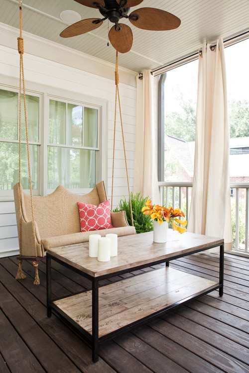 Upholstered Porch Swing