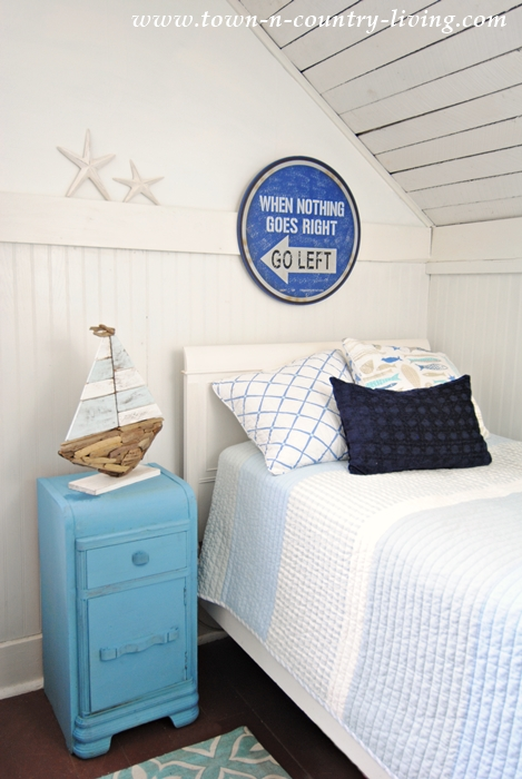 Coastal Style Boys Bedroom