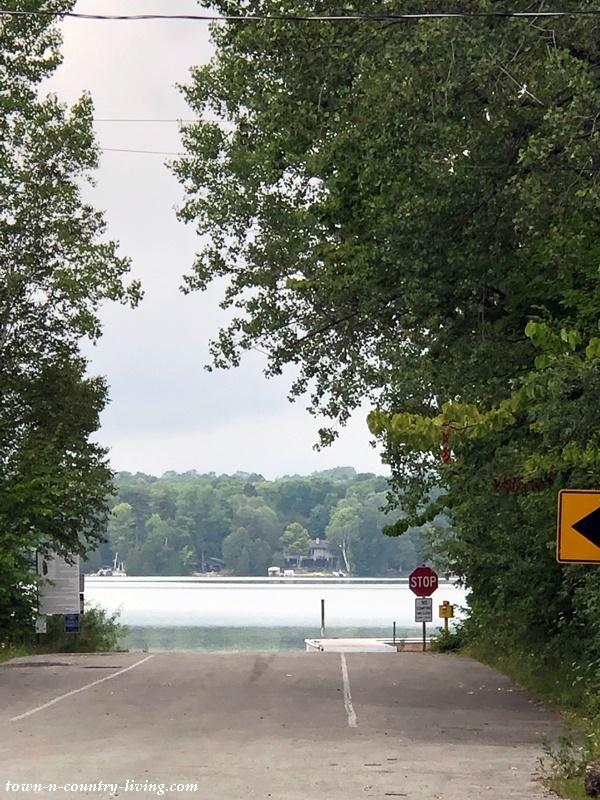 Kangaroo Lake in Door County, Wisconsin