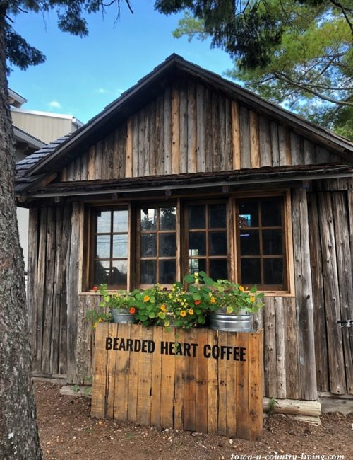 Bearded Heart Coffee in Baileys Harbor, WI
