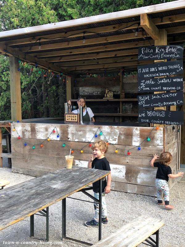 Outdoor Bar in Door County