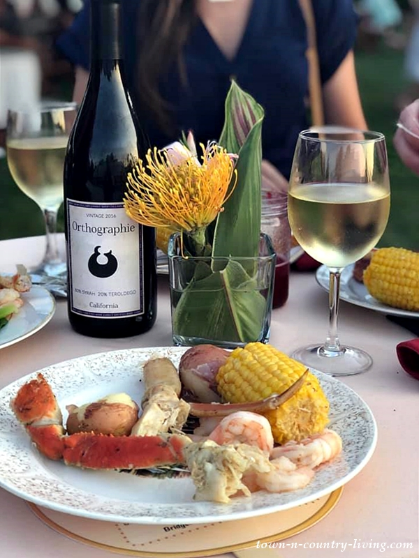 Low Country Boil Farm Dinner