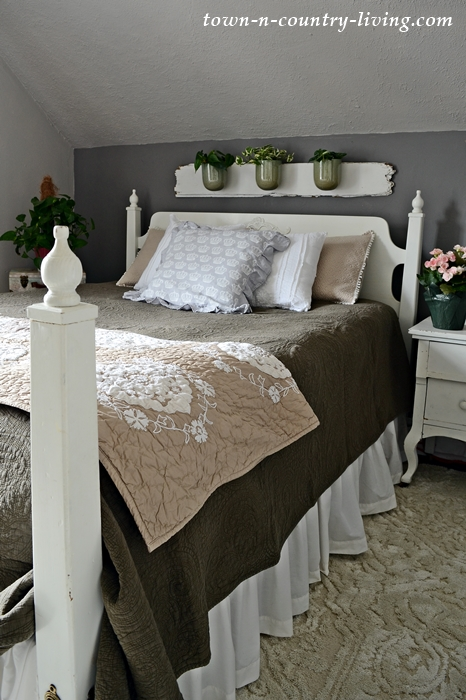 Under-the-Eaves Bedroom in Neutral Tones