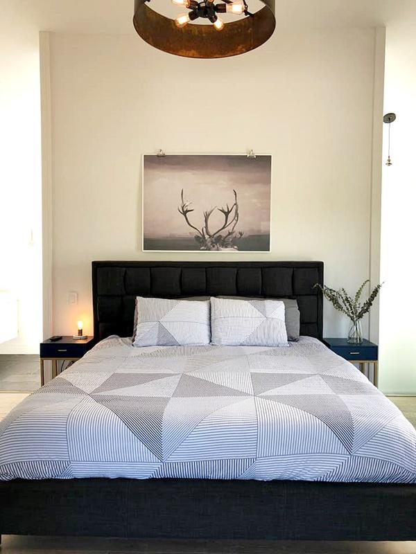 Master Bedroom in Modern Farmhouse